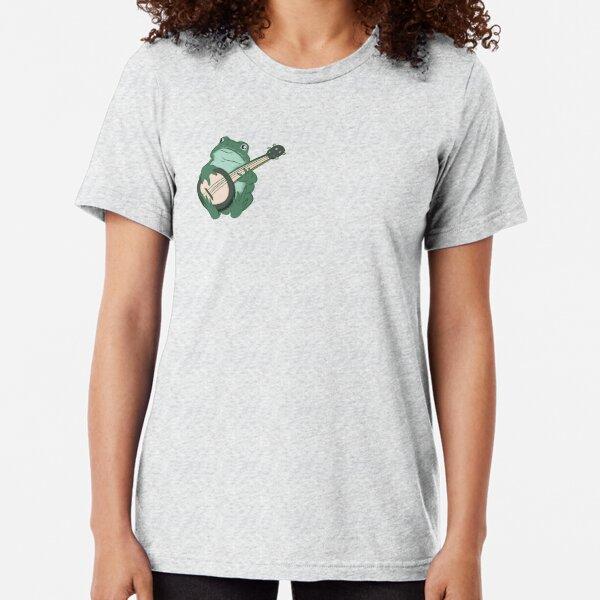 Banjo Frog Tri-blend T-Shirt