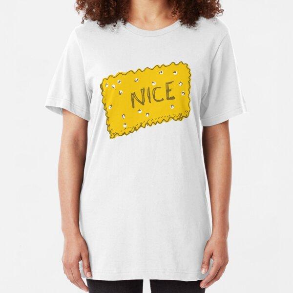 Kitsch Nice Biscuit Slim Fit T-Shirt