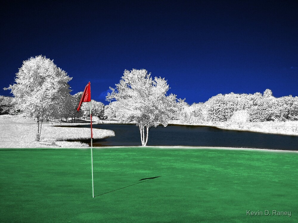 Infrared Golf Course by Kevin D. Raney