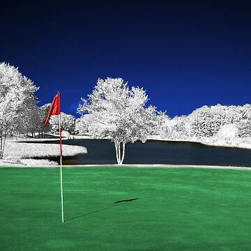 Infrared Golf Course by JunkMan