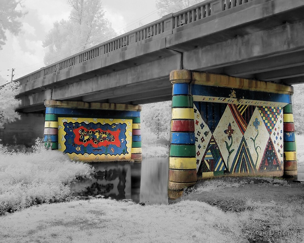 Infrared Bridge by Kevin D. Raney