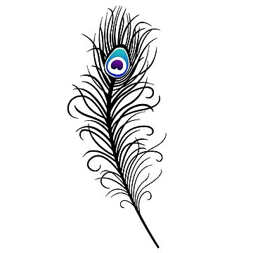 Peacock feather by KSan