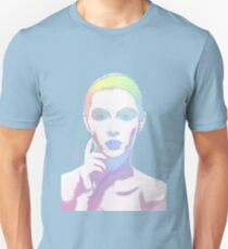 Simply Irresistible Abstract Woman Unisex T-Shirt