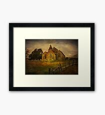 St Clement's Old Romney From The East Framed Print
