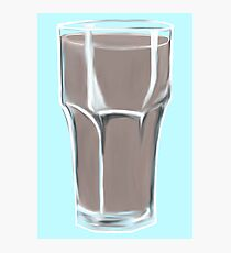 Chocolate Milk Addict Photographic Print