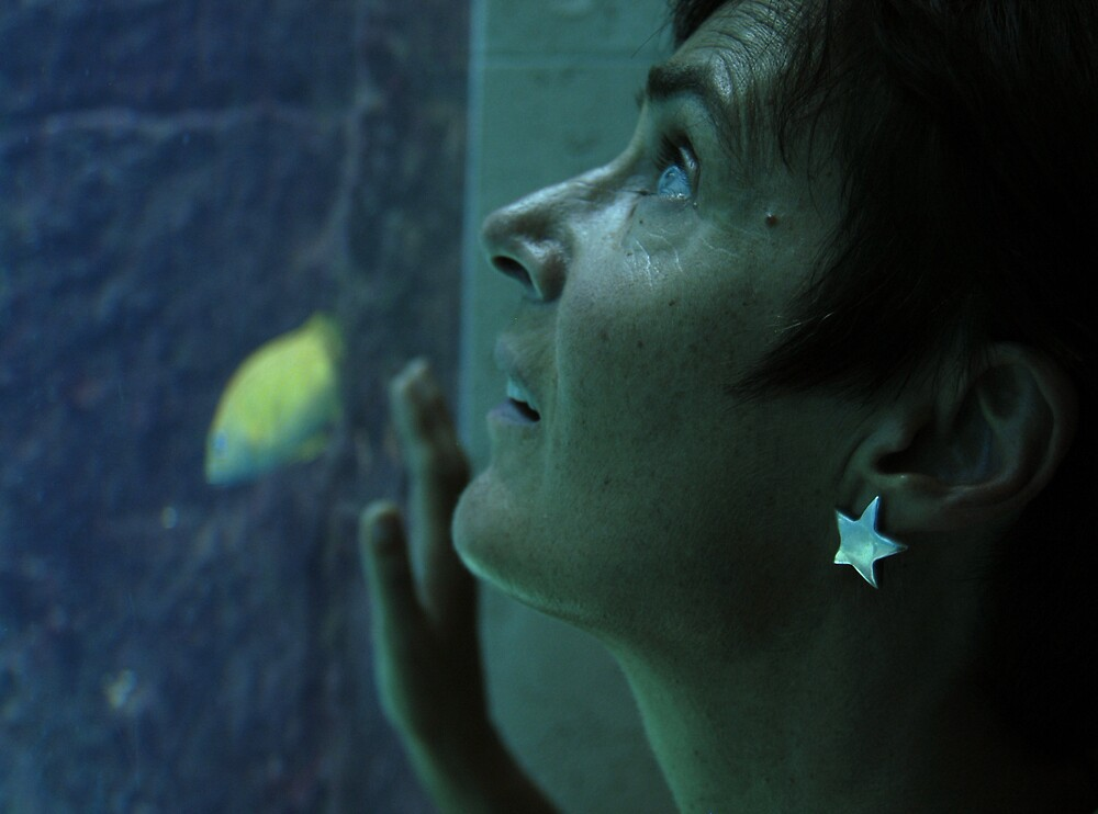 Linda, Aquarium by JimWhitham