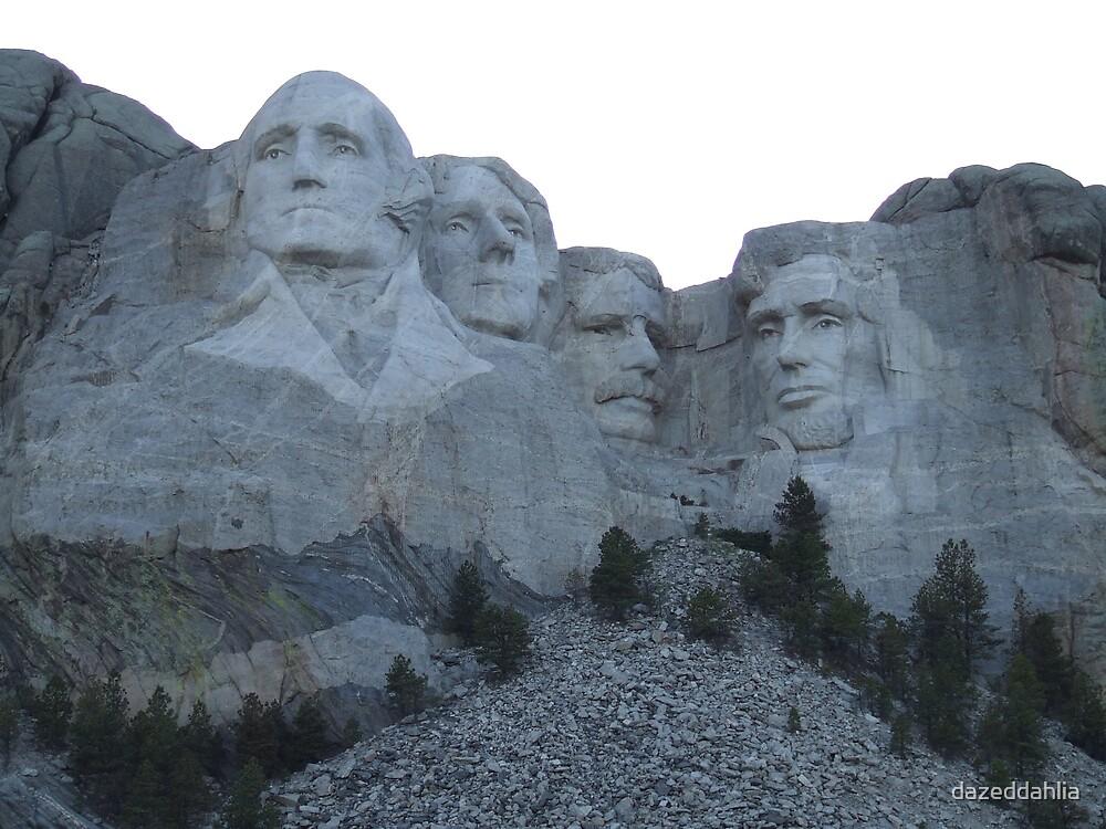 Mt. Rushmore by dazeddahlia