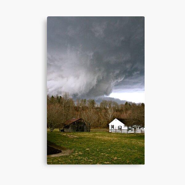West Liberty, KY Tornado Canvas Print