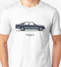 Mercedes-Benz 250 D (W124) (nautical blue) Unisex T-Shirt