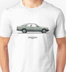 Mercedes-Benz 250 D (W124) (seafoam green) Unisex T-Shirt