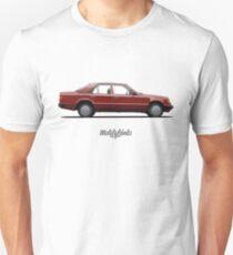 Mercedes-Benz 250 D (W124) (signal red) Unisex T-Shirt