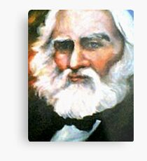 Henry Wadsworth Longfellow Metal Print