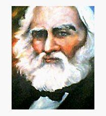 Henry Wadsworth Longfellow Photographic Print