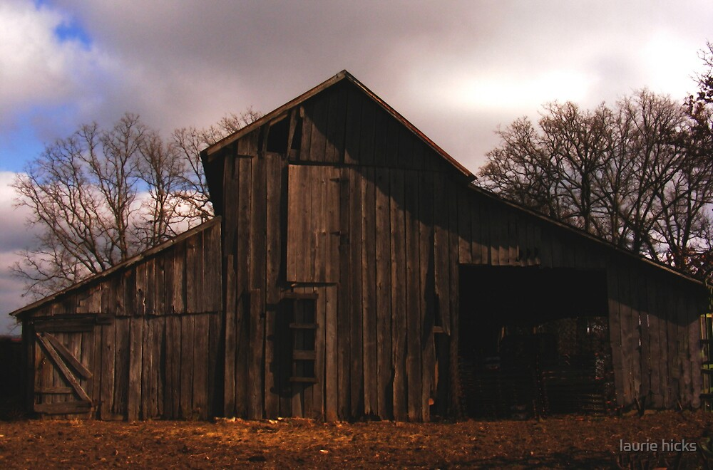 Grandpa's Barn by laurie hicks