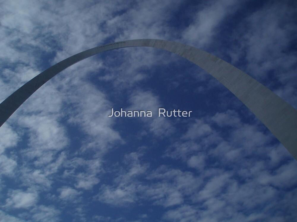 Arch in St. Louis 2  by Johanna  Rutter