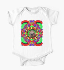 Psychedelic Sloth One Piece - Short Sleeve
