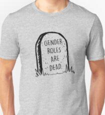 Geschlechterrollen sind tot Slim Fit T-Shirt