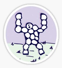 Snow Golem Sticker