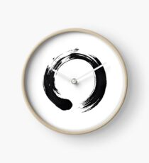 Zen Enso Circle Clock