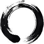 Zen Enso Circle by dotygonegreen