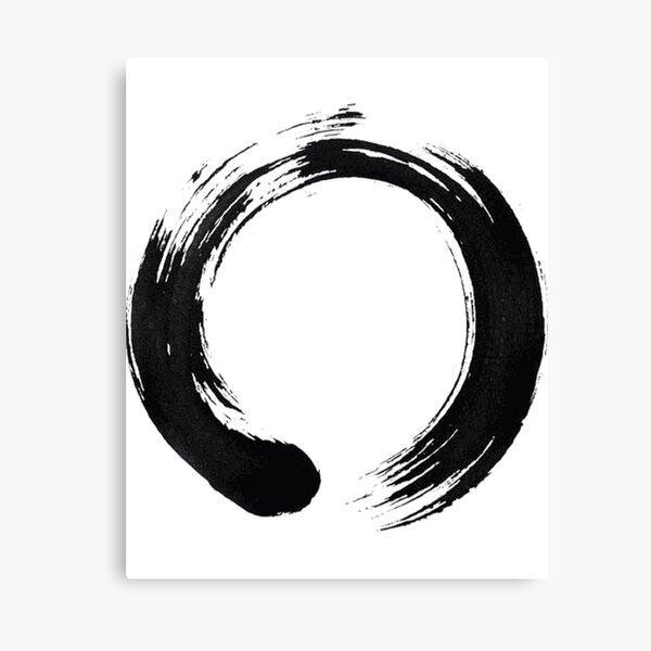 Zen Enso Circle Canvas Print