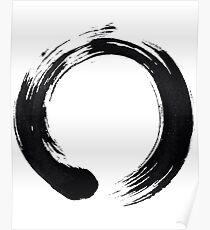 Zen Enso Kreis Poster