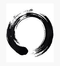 Zen Enso Kreis Fotodruck