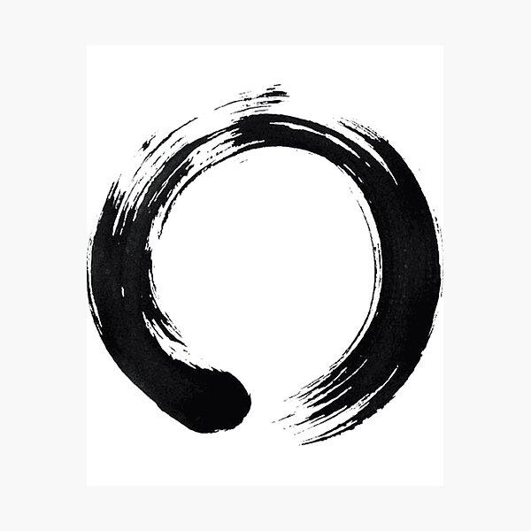 Japan Calligraphy Buddhism Buddhist Yoga Zen popularshop Japanese T Shirt Enso Circle