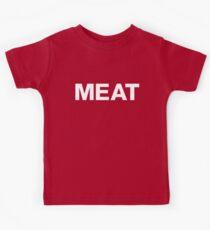 EAT MEAT Kids Tee
