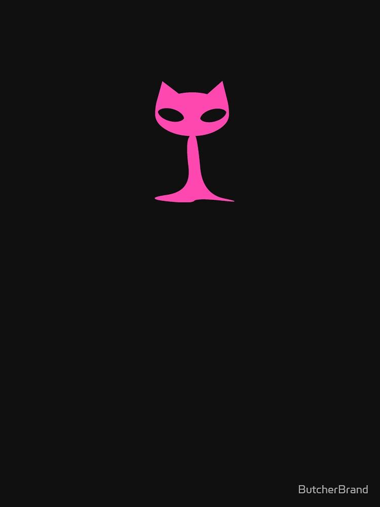 Pink Ghost Kittie Cat by ButcherBrand