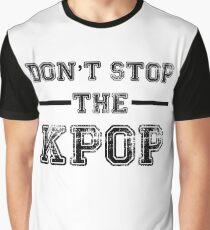 Camiseta gráfica No detengas el KPOP
