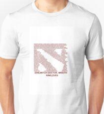 Dota 2 all heros Type Unisex T-Shirt