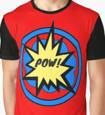 RETRO CLASSIC COMIC POW! Graphic T-Shirt