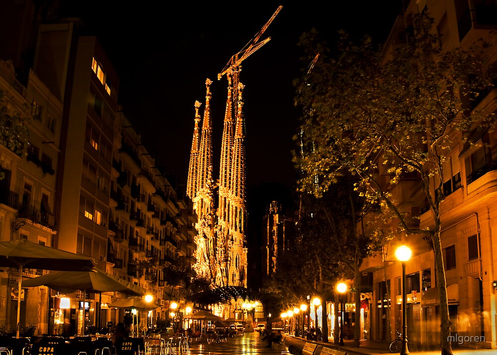Sagrada Familia by mlgoren
