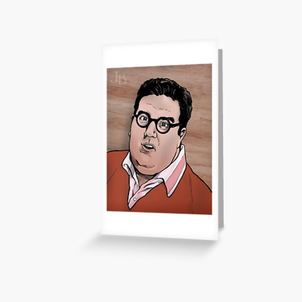 Ricky, Better Off Dead Greeting Card