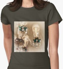 Chandelier At Winterthur Women's Fitted T-Shirt