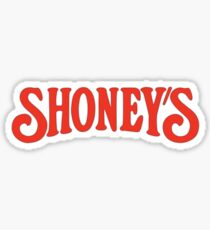 Shoney's - Rick And Morty Sticker