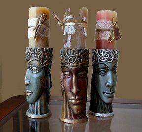 candelholders II by lidiasimeonova