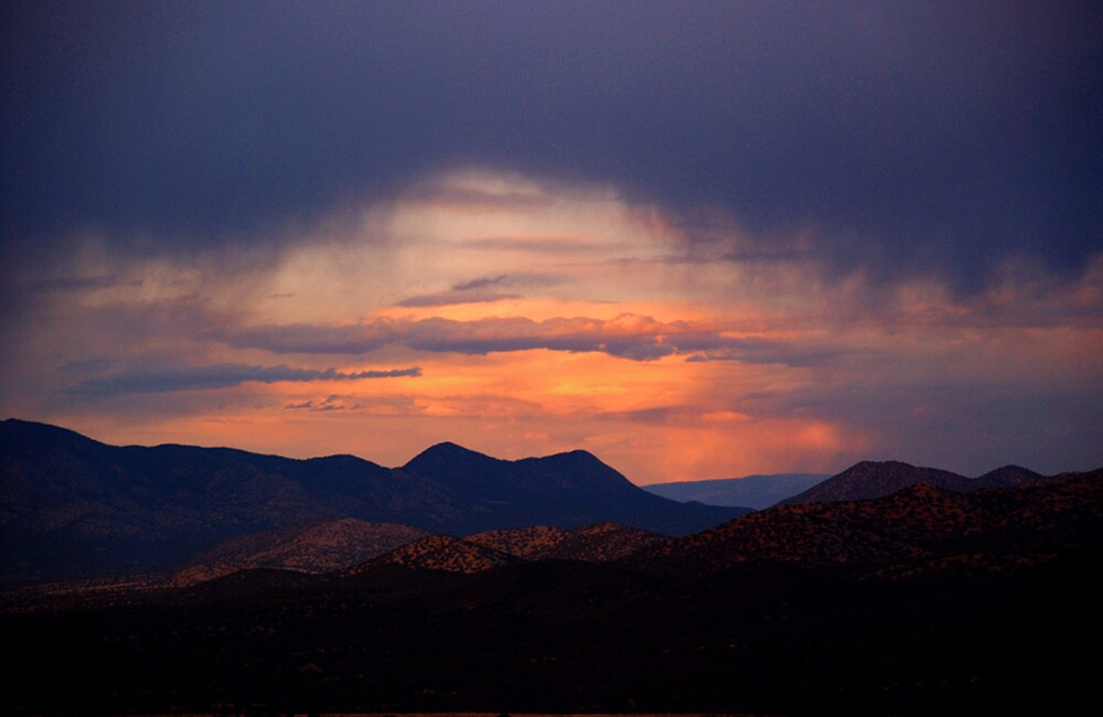 Rain in New Mexico by Ken  Aitchison