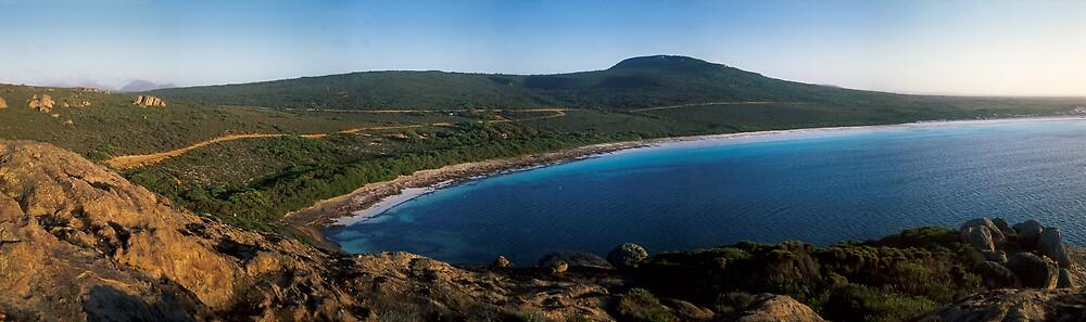 Lucky Bay Panorama - Cape Le Grande National Park, Western Australia by John Barratt