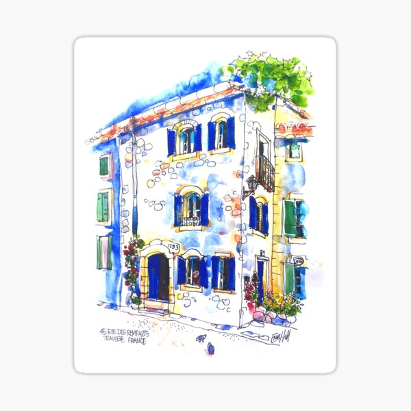 House on The Square, Trausse Minervois Sticker