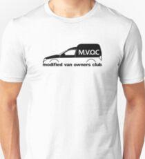 MVOC - for  VW Caddy van Mk2 (9k) volkswagen enthusiasts Unisex T-Shirt