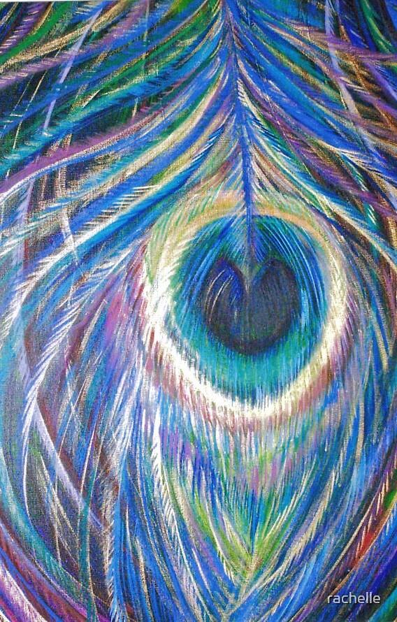 peacock plume by rachelle