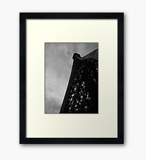 Architecture I - Eiffel Tower Framed Print