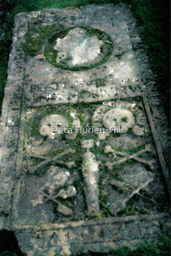 skull and crossbone by Peta Hurley-Hill