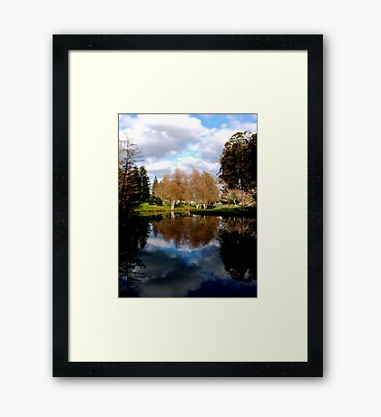 Reflective Moments Framed Print