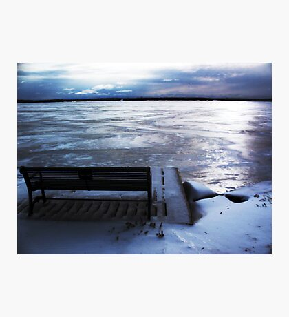 Frozen Day Photographic Print