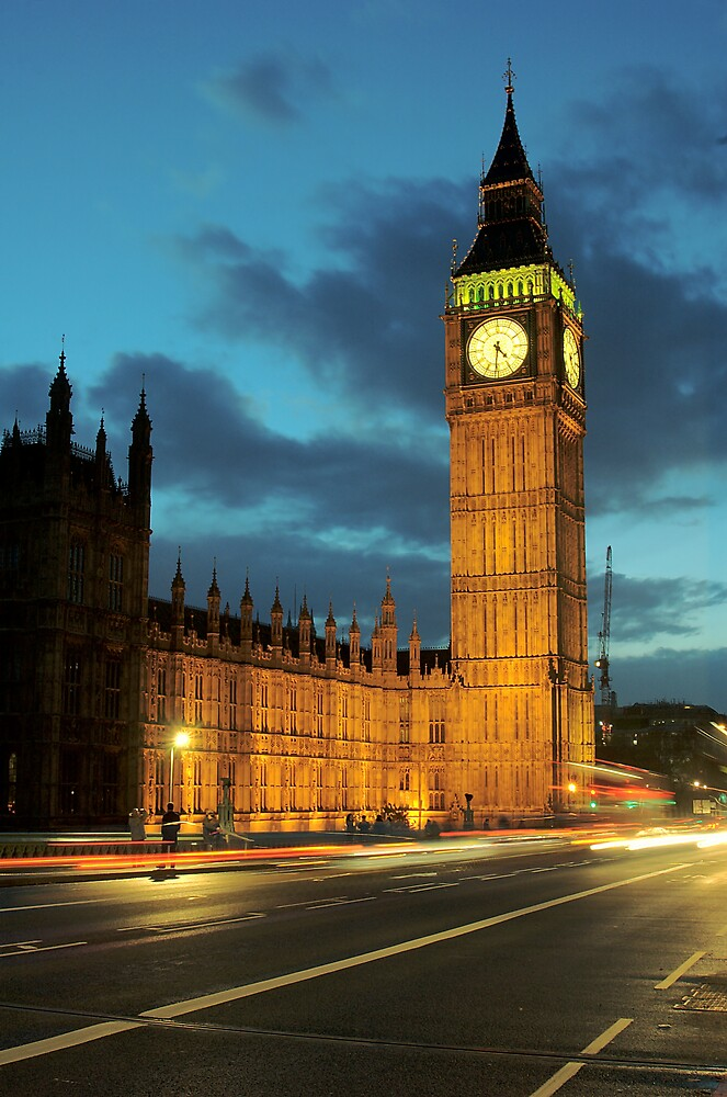 Big Ben by Glen Birkbeck
