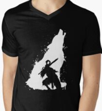 Artorias & Sif Tshirt Men's V-Neck T-Shirt