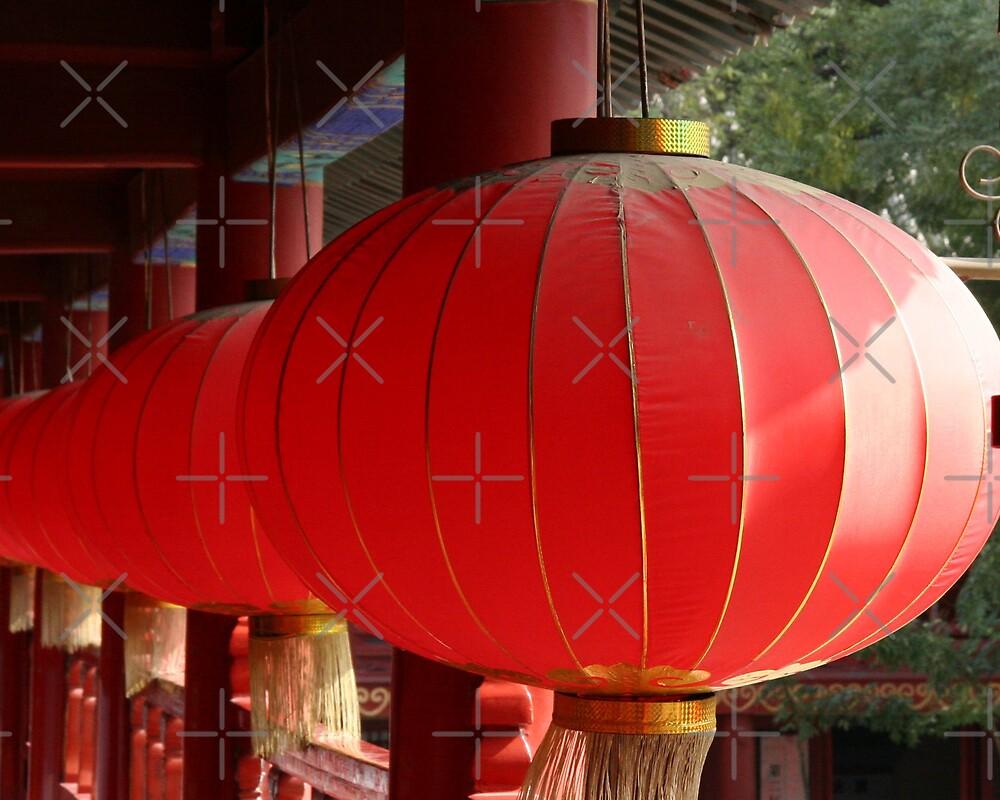 Temple Lanterns by KLiu